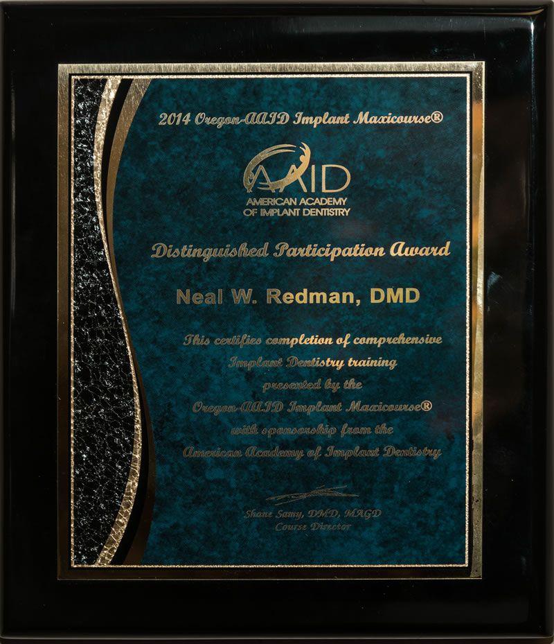Dr. Neal Redman, DDS